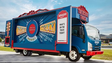 Amazon's Treasure Truck coming to Charlotte