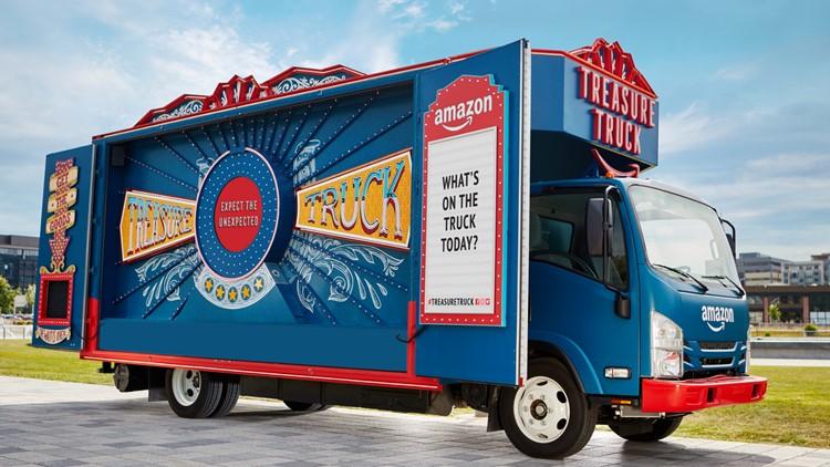 Amazon's Treasure Truck coming to Charlotte