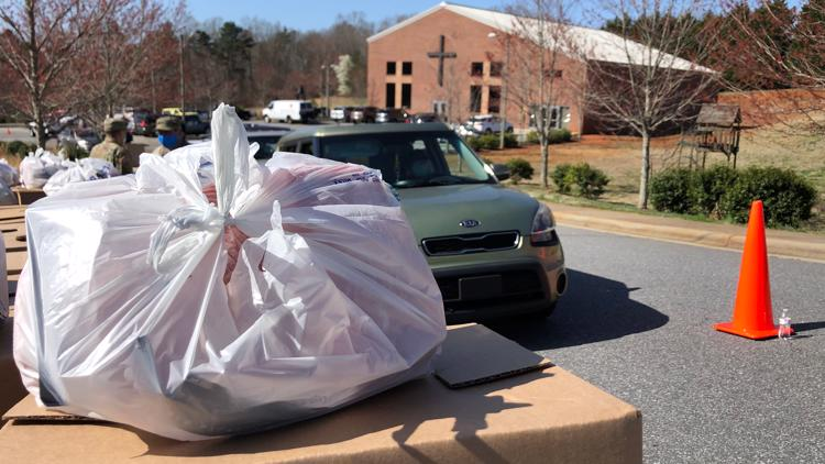 'It's a blessing' | 550 families receive free meals in Hickory