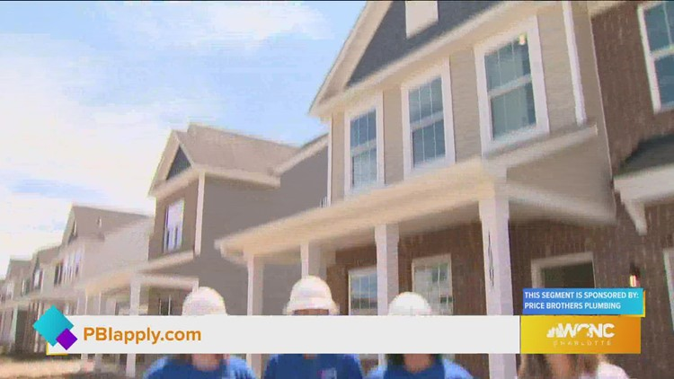 Women are taking on new construction plumbing