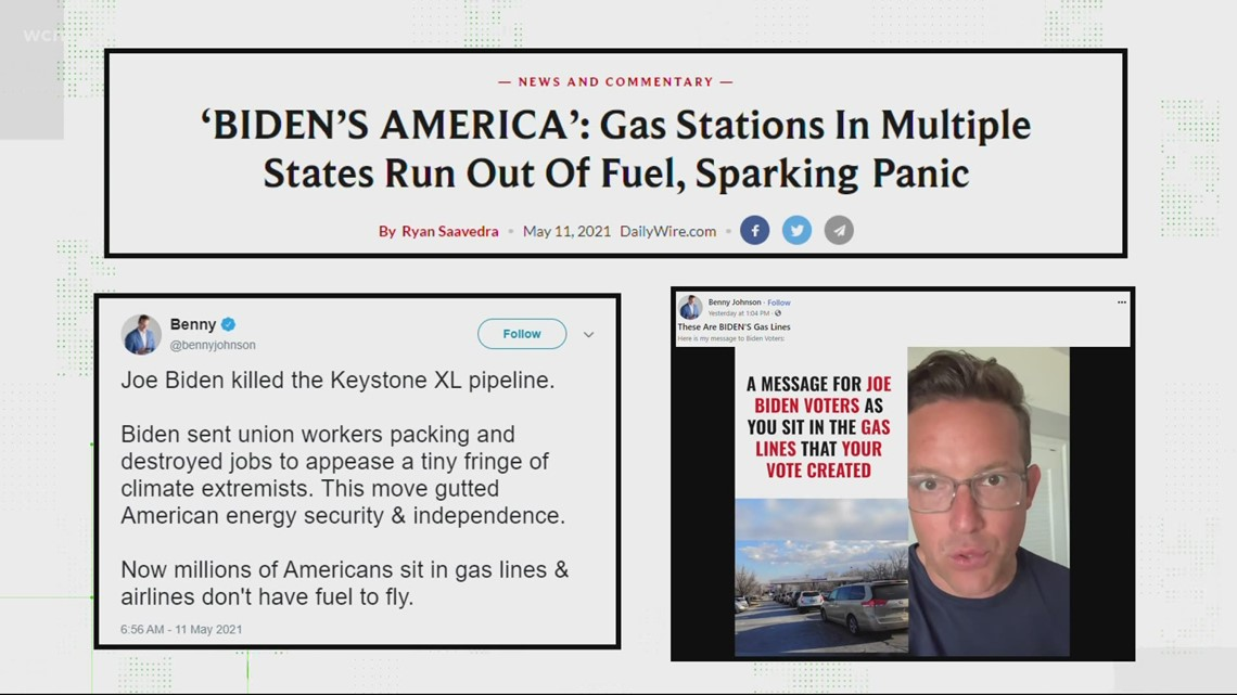 Is President Biden responsible for the gas shortage?