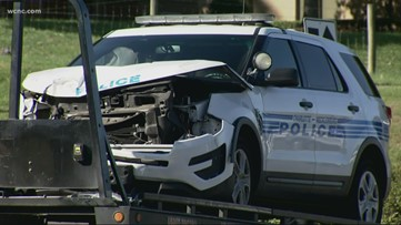 CMPD officer expected to be alright after officer-involved collision