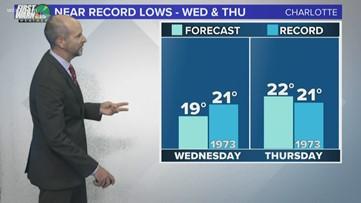 Sunday late-night weather forecast