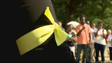 Peaceful protests mark 1 year anniversary of Keith Scott Shooting