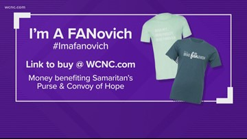 'I'm a FANovich' shirts to benefit charities