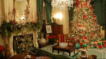 Here's when you can visit the North Carolina Governor's Mansion holiday open house