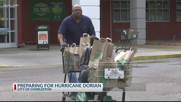Millions in the Carolinas prepare for Hurricane Dorian