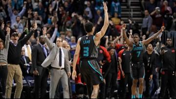 Lamb hits 3-point winner, Hornets beat Raptors 113-111