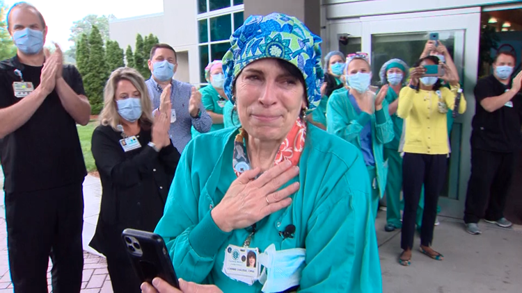 Union County nurse recognized after returning from front lines in New York City
