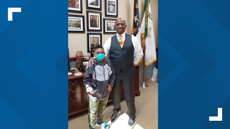 'I don't want my son to live in fear' | Personal meetup with the Mecklenburg County sheriff helps ease young boy's fear of law enforcement