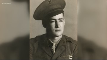 'He's a part of history' | Remains of World War II Marine returned to North Carolina