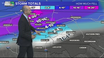 Sun. 6 p.m. winter storm update: Black ice to come