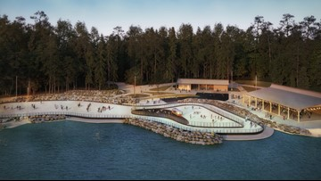 Ice skating rink coming to Whitewater Center