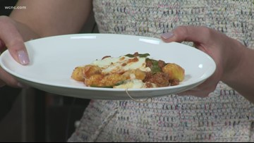 Recipe: Gnocchi Bolognese bake