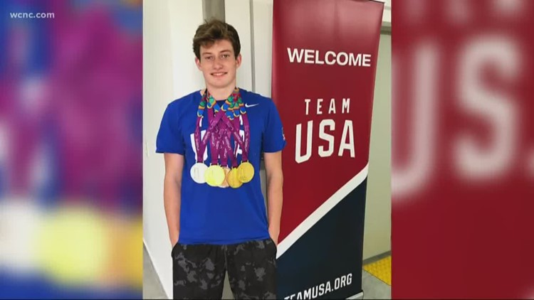 Charlotte-area Paralympic swimmer reacts to Tokyo games being postponed