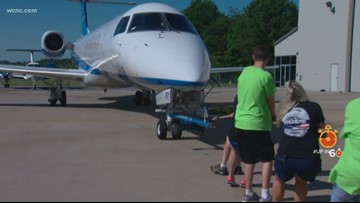 Plane Pull and Fly-In benefits Charlotte-area Special Olympics