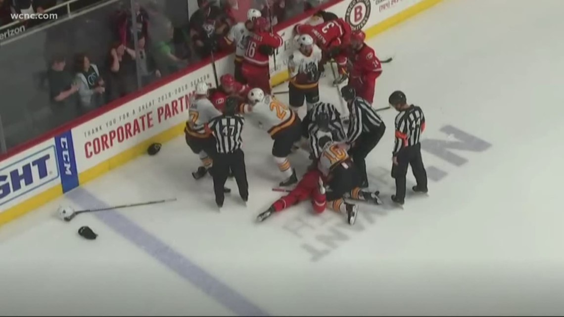 Checkers win a Calder Cup Finals game