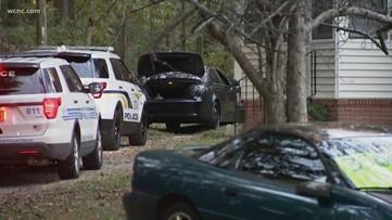 Police pursuit leads to Matthews manhunt