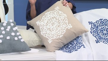 DIY pillows and curtains for your home