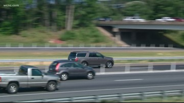 Final section of I-77 Express lanes opening Saturday night