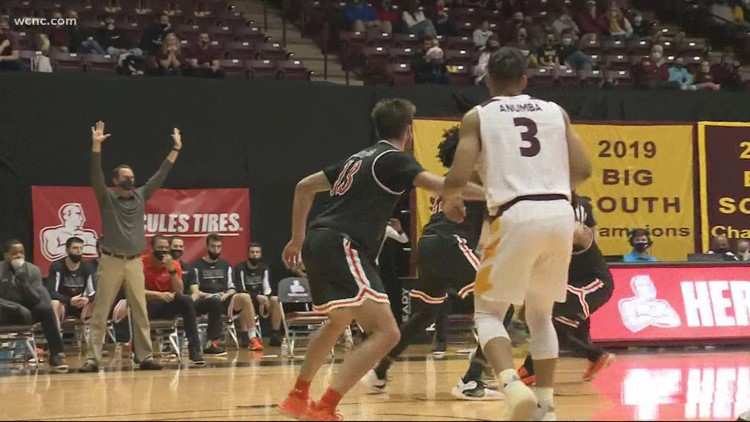 Winthrop cruises to Big South title