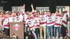 Charlotte Checkers celebrate Calder Cup championship