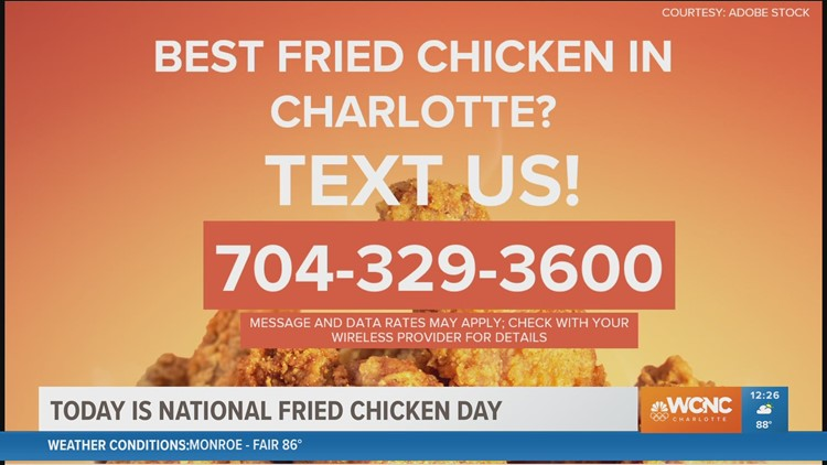 Who has the best fried chicken in Charlotte?