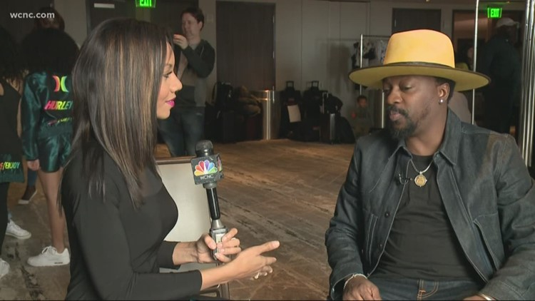 One-on-one with Anthony Hamilton ahead of national anthem performance at All-Star Game