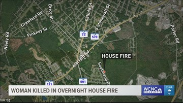 Woman dies, 6 others hurt in Rock Hill house fire