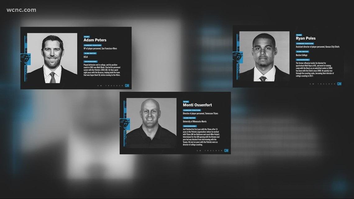 Panthers announce final four candidates for general manager opening