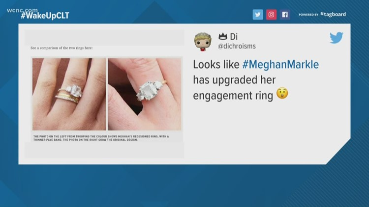 The internet can't stop talking about Meghan Markle's new engagement ring