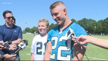 Christian McCaffrey starts program to help healthcare workers