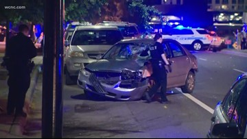 One person injured after hit-and-run in south Charlotte