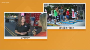 Speed Street kicks off Coca-Cola 600 festivities in uptown Charlotte