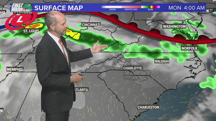 Brad Panovich with a look at your weekend forecast