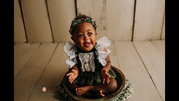 SC photographer captures pure joy with free photoshoots for babies with Down syndrome