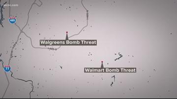 Bomb threats investigated in Monroe, Matthews