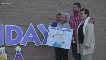 Charlotte community steps up, throws little girl a birthday party