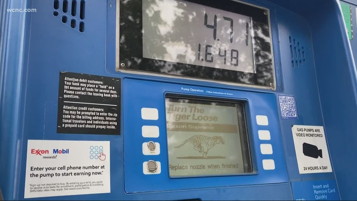 Charlotte gas stations slowly replenishing fuel supplies after pipeline shutdown