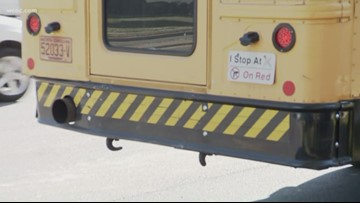 Police: Man tried to grab 11-year-old right after she got off her school bus