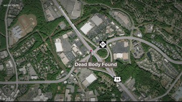 Body found along Matthews road, police investigating