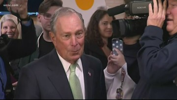 Bloomberg focusing campaign on NC