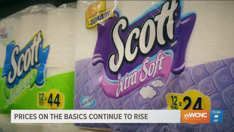 Prices on the basics continue to rise