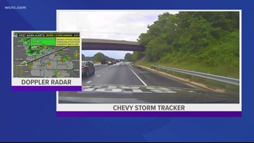 Chevy Storm Tracker 6 p.m. update