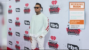 Singer Chris Brown detained after rape accusation