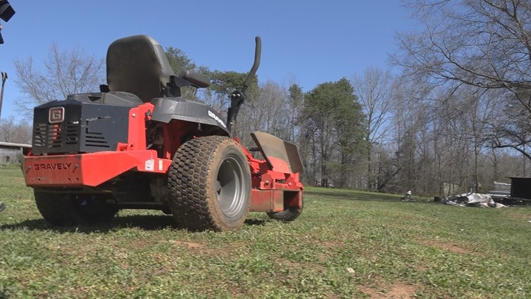 Young boy airlifted to hospital after falling off riding lawnmower