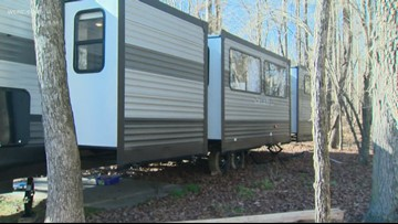 Charlotte family of seven downsizes to tiny-home on wheels