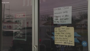 Gaston County orders gyms, self-serve buffets to close