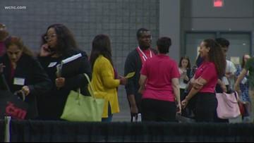 Representatives from 160 schools take part in CMS job fair
