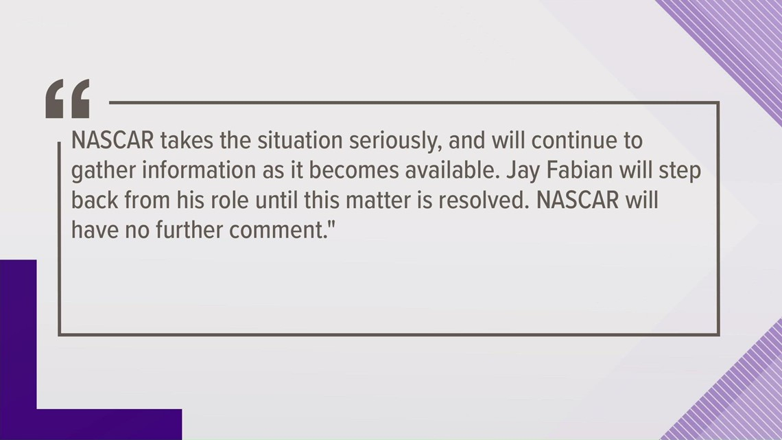 NASCAR Cup Series director being investigated for animal cruelty